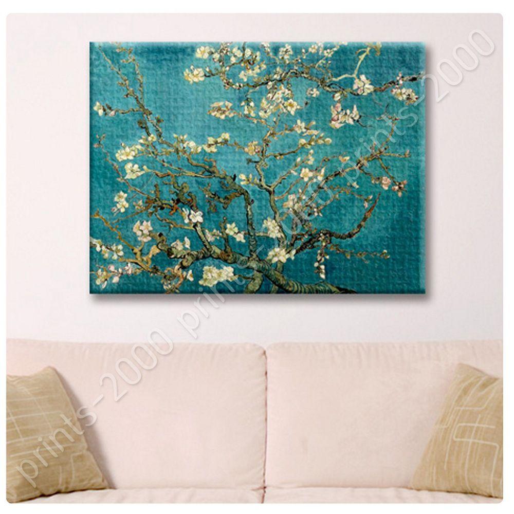 poster or sticker gift decals vinyl almond blossom vincent van poster or sticker gift decals vinyl almond blossom