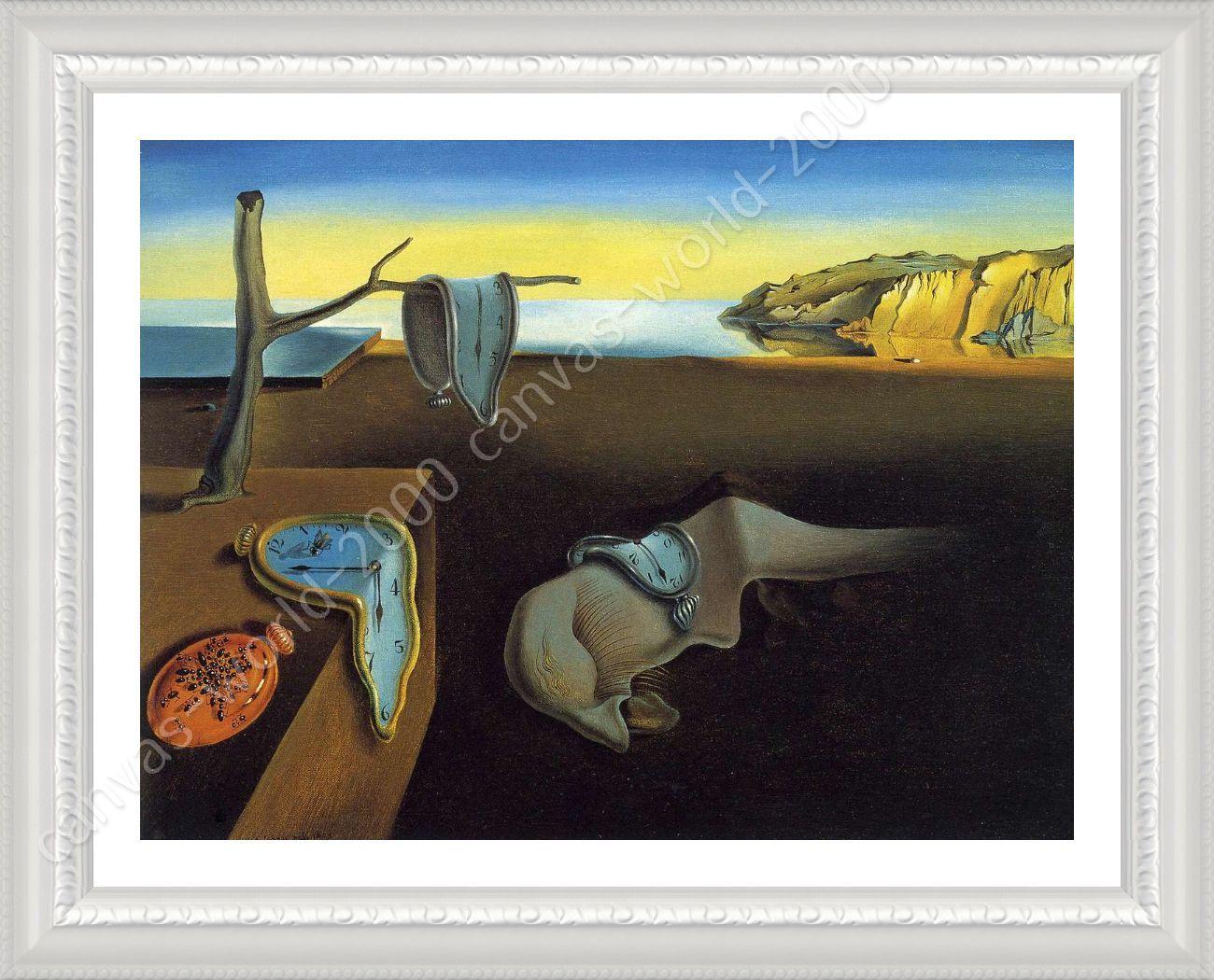 Salvador Dali Persistence Of Memory Poster