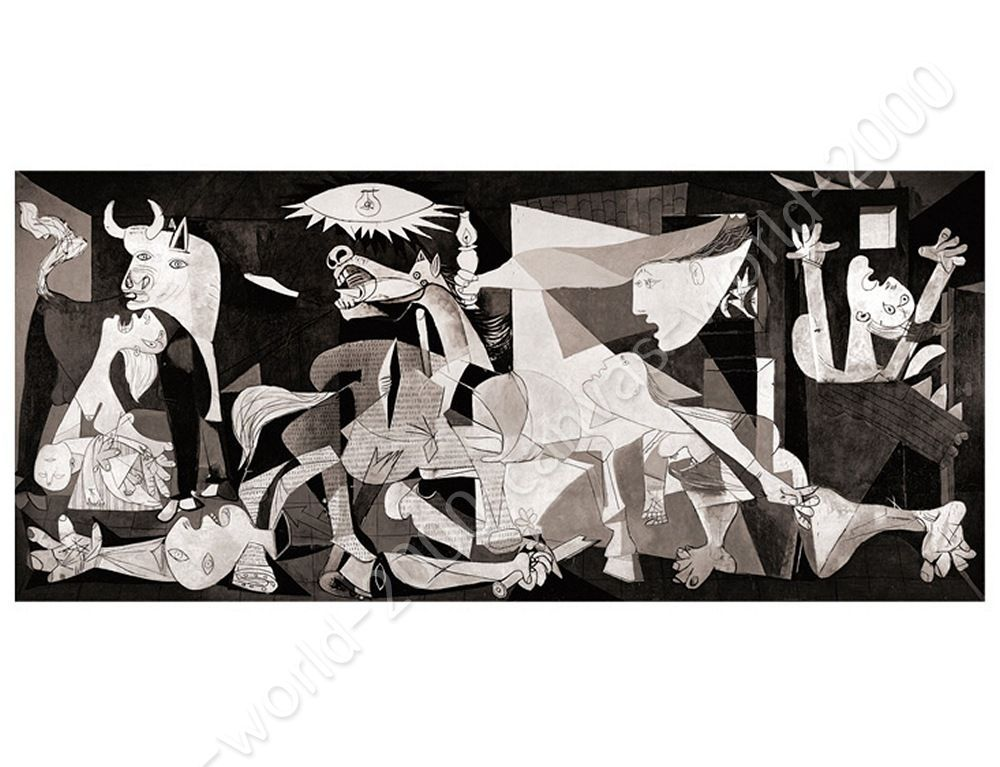 Guernica by Pablo Picasso | Canvas (Rolled) | Wall Art Pictures ...