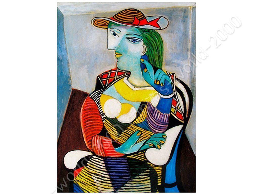 Marie Therese Walter by Pablo PicassoCanvas Rolled Wall art HD picture