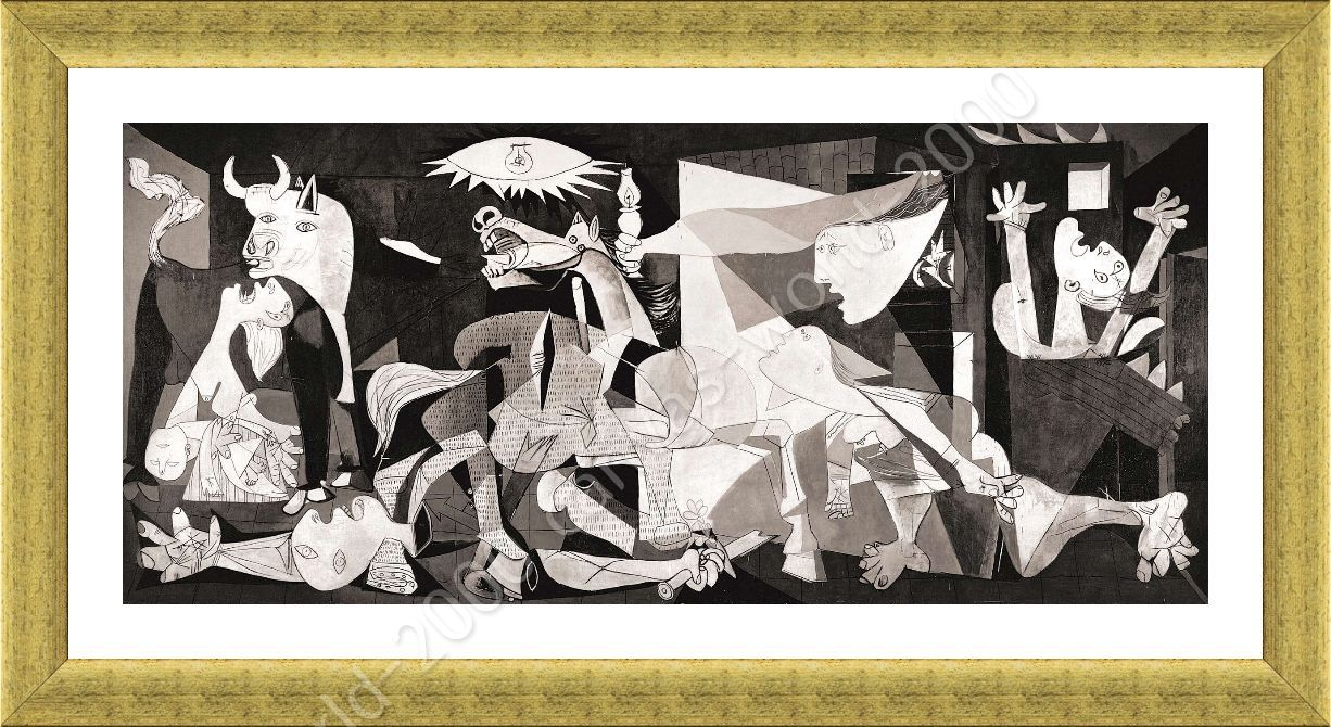 Framed Poster Guernica Pablo Picasso Framed Posters For Living Room