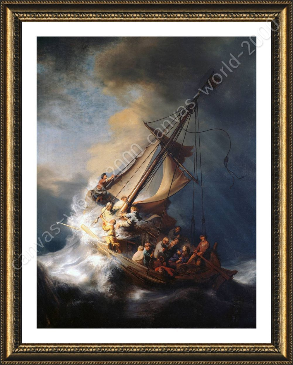Framed poster christ in the storm sea of galilee rembrandt framed framed poster christ in the storm sea of galilee rembrandt framed wall decor publicscrutiny Choice Image