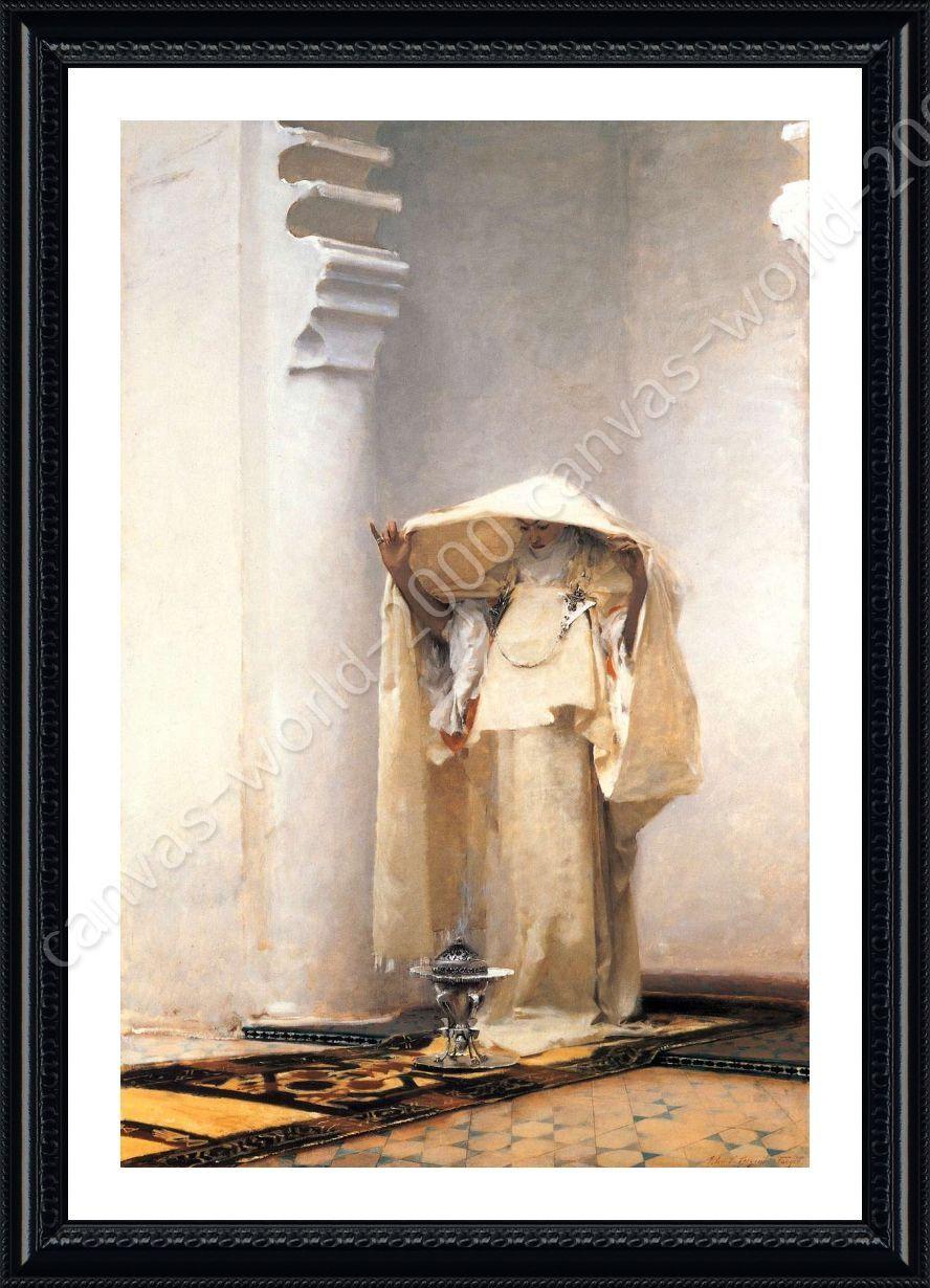 FRAMED Poster Smoke Of Ambergris John Singer Sargent For Living ...