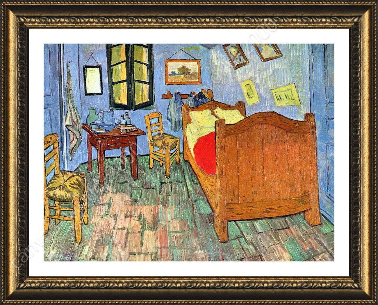 Bedroom At Arles By Vincent Van Gogh Framed