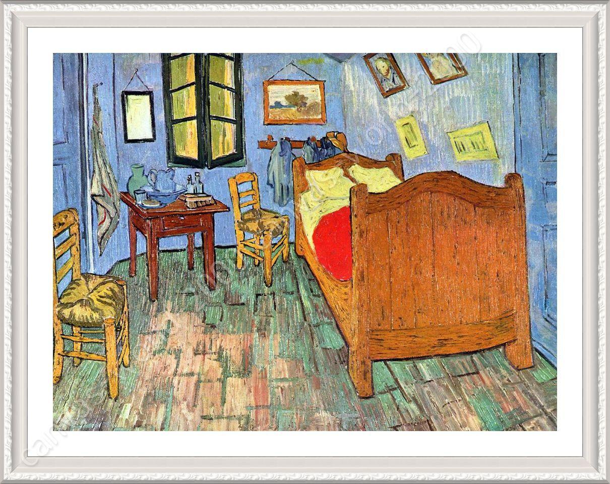 FRAMED Poster Bedroom At Arles Vincent Van Gogh Framed Paints For ...