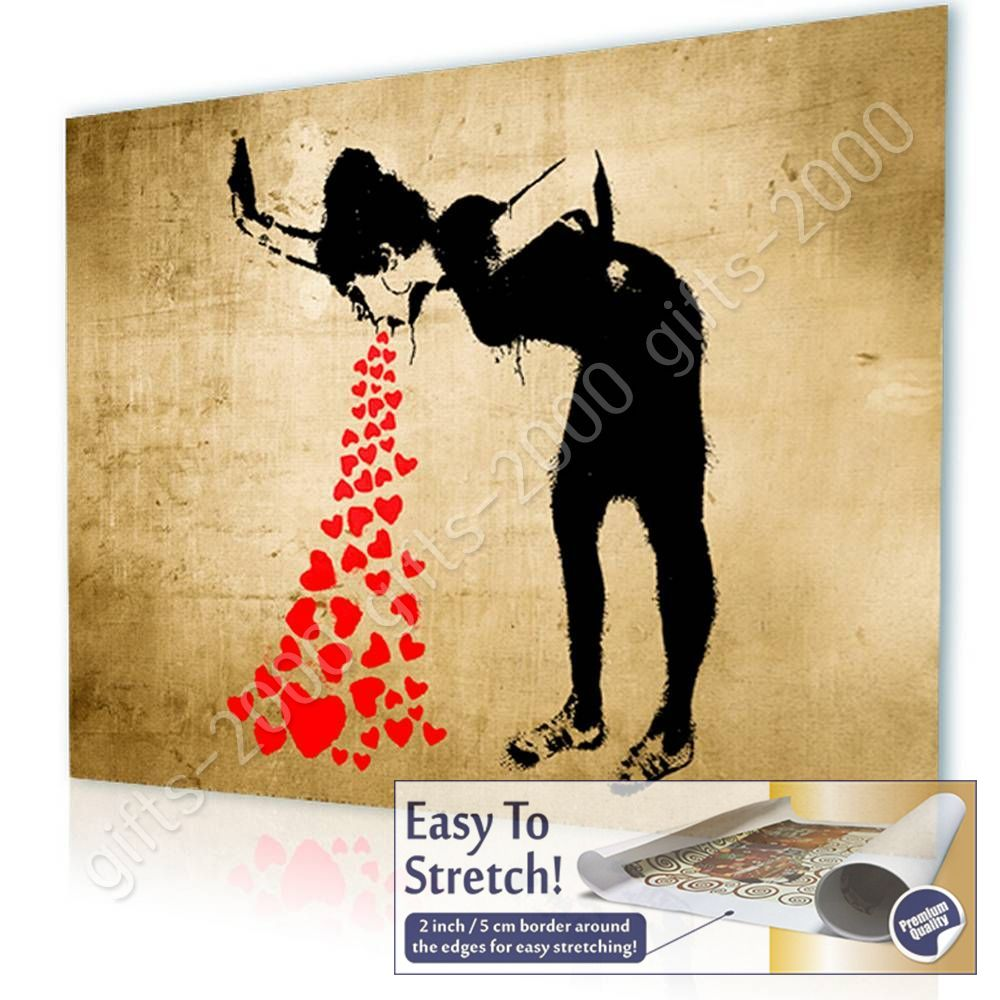 Girl Lovesick by Banksy | Canvas (Rolled) | Paintings Wall Decor Art ...