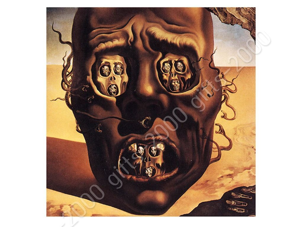 salvador dali the face of war essay 'the burning giraffe' salvador dali was painted during his exile in the united  states,  the painting illustrates ideas of death- through war, loss of individuality   the woman's face is featureless now, indicating a nightmarish.