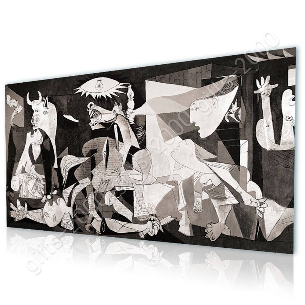Guernica by Pablo Picasso   Ready to hang canvas   Wall ...