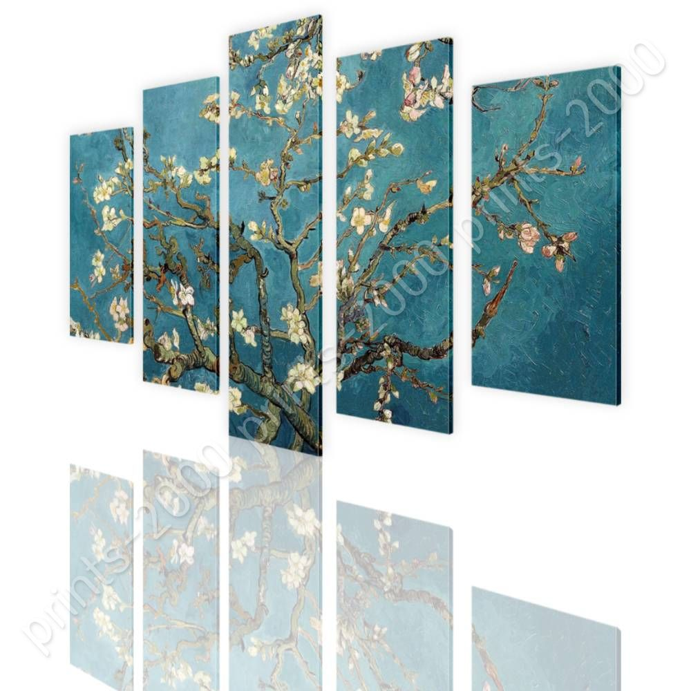POSTER Or STICKER Decals Vinyl Almond Blossom Vincent Van Gogh 5 ... for Almond Blossom Van Gogh Poster  111ane