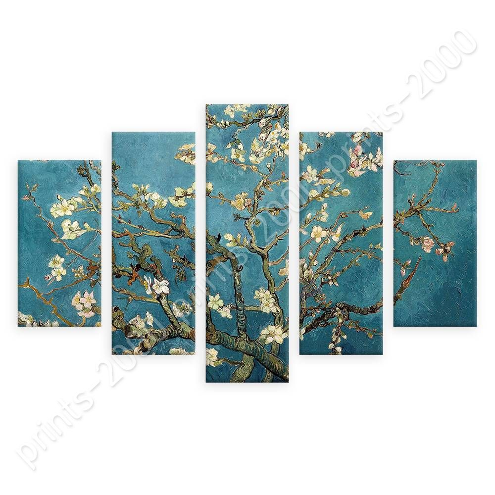 POSTER Or STICKER Decals Vinyl Almond Blossom Vincent Van Gogh 5 ... for Almond Blossom Van Gogh Poster  165jwn
