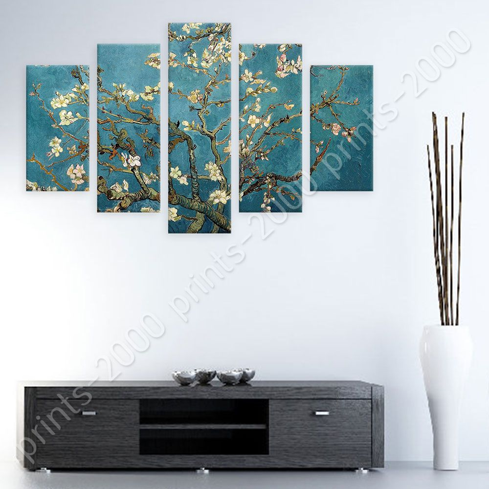 POSTER Or STICKER Decals Vinyl Almond Blossom Vincent Van Gogh 5 ... for Almond Blossom Van Gogh Poster  55jwn