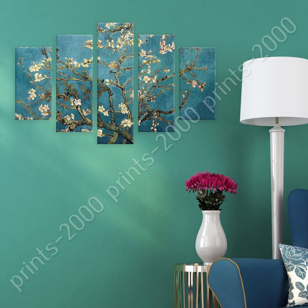 POSTER Or STICKER Decals Vinyl Almond Blossom Vincent Van Gogh 5 ... for Almond Blossom Van Gogh Poster  143gtk